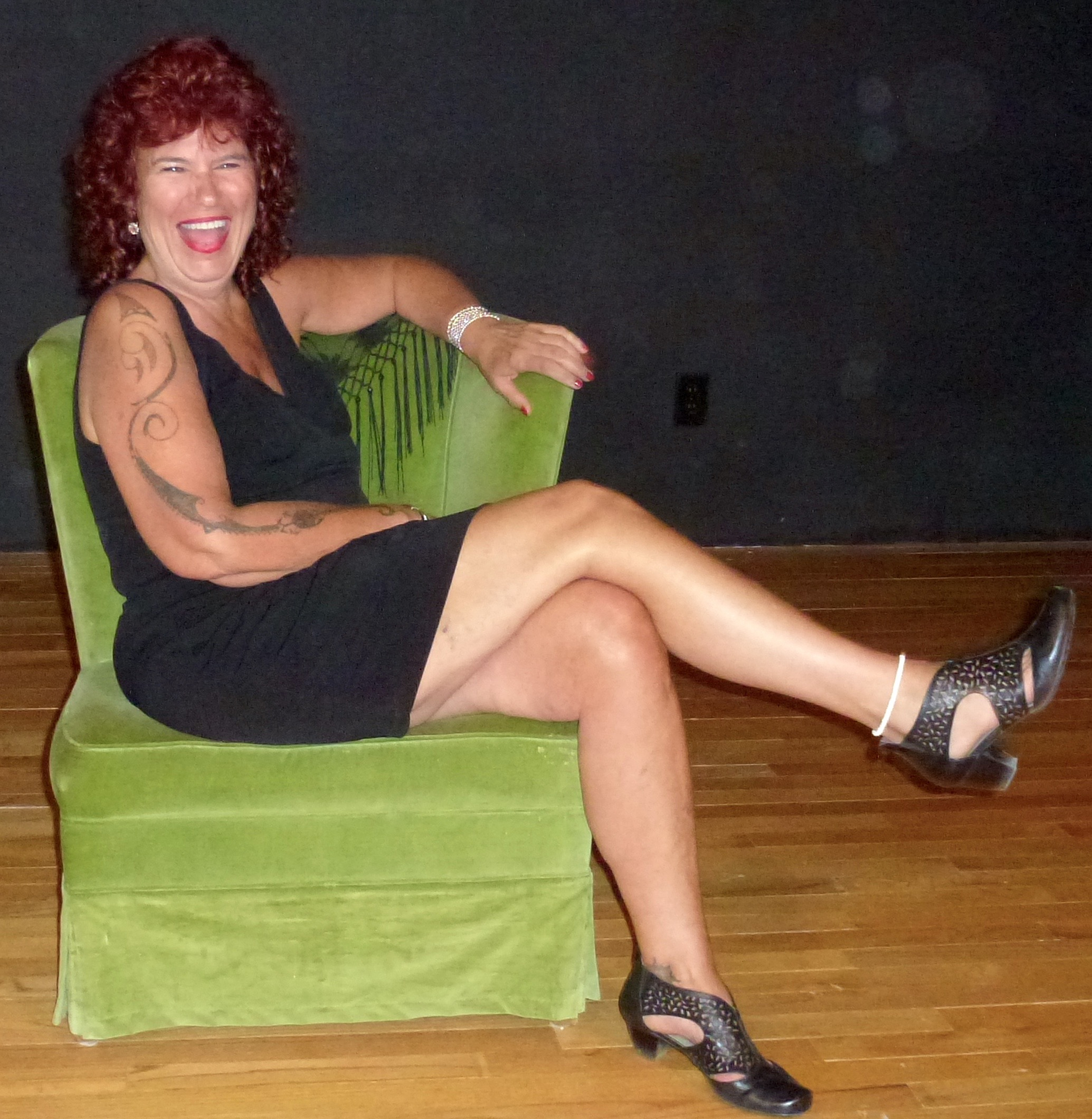 Christina after show - 2015